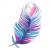 Heart Feather