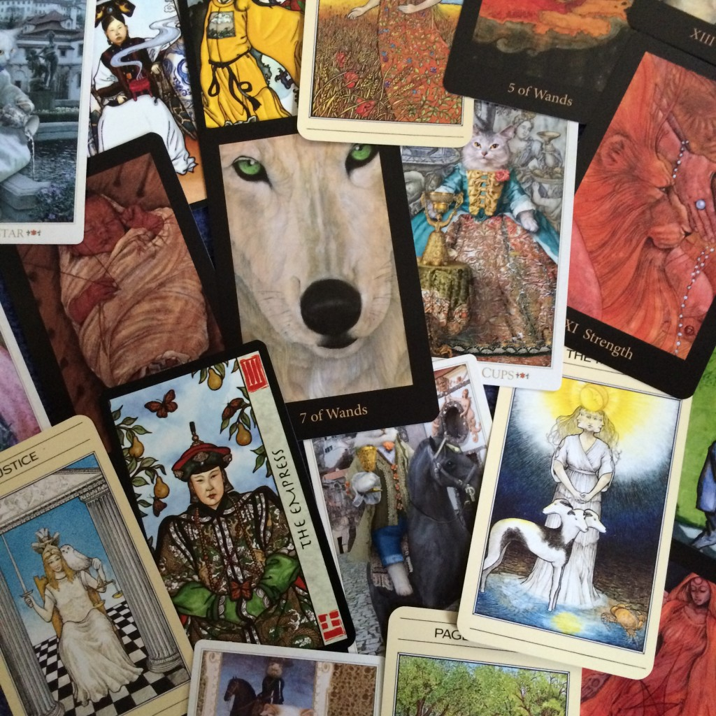 Tarot Collage